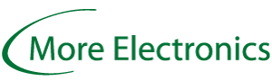 More Electronics logo - electronics industry in the Nordic and Baltic region.